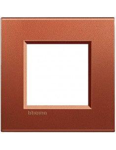 BTicino LNA4802RK LivingLight - placca 2 moduli brick