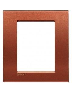 BTicino LNA4826RK LivingLight - placca 3+3 moduli brick