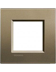 BTicino LNA4802SQ LivingLight - placca 2 moduli square