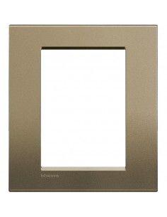 BTicino LNA4826SQ LivingLight - placca 3+3 moduli square
