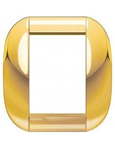 BTicino LNB4826OC LivingLight - placca 3+3 moduli oro