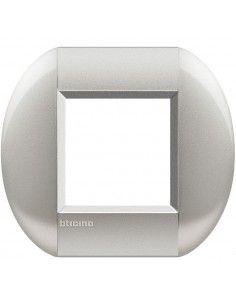 BTicino LNB4802TE LivingLight - placca 2 moduli tech