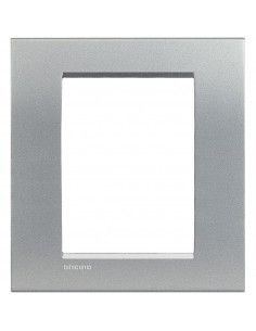 BTicino LNC4826TE LivingLight Air - placca 3+3 moduli tech