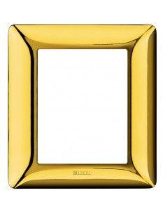 BTicino AM4826GOR Matix - placca 3+3 moduli oro lucido