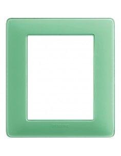 BTicino AM4826CVC Matix - placca 3+3 moduli tè verde