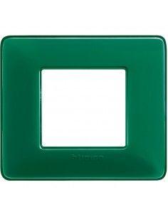 BTicino AM4802CVS Matix - placca 2 moduli smeraldo