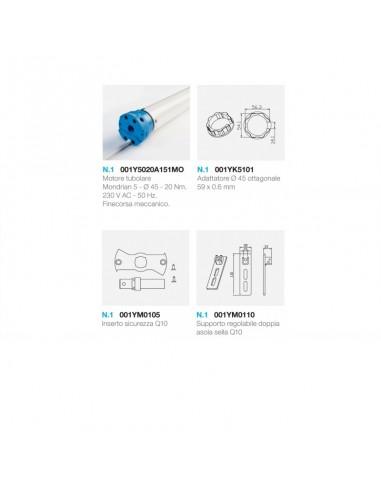 Came 001UY0019 - kit tapparelle Mondrian 5 20NM