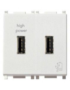 Vimar 14295 Plana - caricatore USB doppio 2.1A