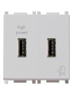 Vimar 14295.SL Plana - caricatore USB doppio 2.1A