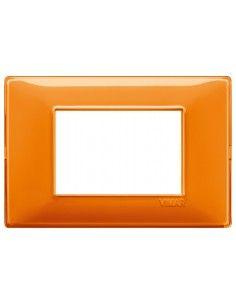 Vimar 14653.48 Plana - placca 3 moduli arancio