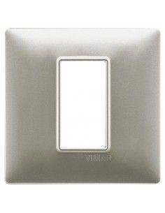 Vimar 14641.21 Plana - placca 1 modulo nichel opaco