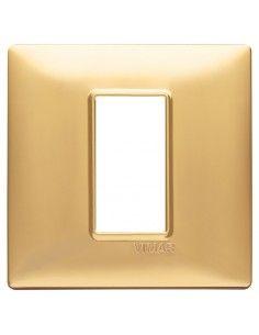 Vimar 14641.25 Plana - placca 1 modulo oro opaco
