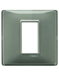 Vimar 14641.40 Plana - placca 1 modulo cenere