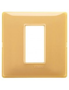 Vimar 14641.43 Plana - placca 1 modulo ambra