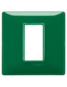 Vimar 14641.47 Plana - placca 1 modulo smeraldo