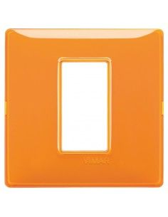 Vimar 14641.48 Plana - placca 1 modulo arancio