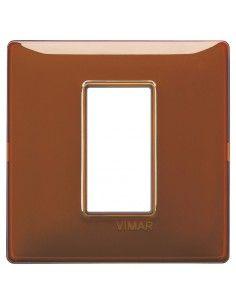 Vimar 14641.49 Plana - placca 1 modulo tabacco