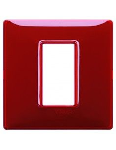 Vimar 14641.51 Plana - placca 1 modulo rubino
