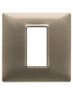 Vimar 14641.70 Plana - placca 1 modulo bronzo metallizzato
