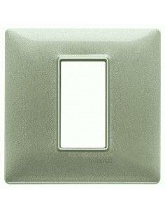 Vimar 14641.72 Plana - placca 1 modulo verde metallizzato