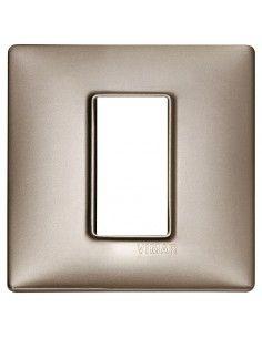 Vimar 14641.74 Plana - placca 1 modulo nichel perleto