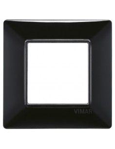 Vimar 14642.05 Plana - placca 2 moduli nero