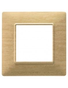 Vimar 14642.31 Plana - placca 2 moduli frassino