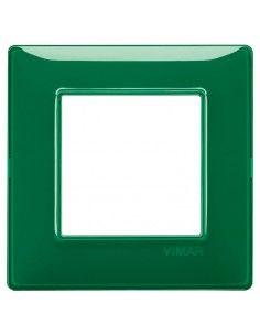 Vimar 14642.47 Plana - placca 2 moduli smeraldo