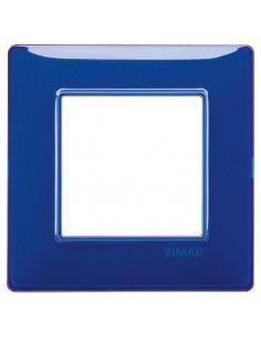 Vimar 14642.50 Plana - placca 2 moduli zaffiro