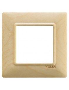 Vimar 14642.61 Plana - placca 2 moduli acero