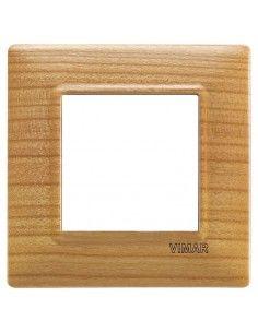 Vimar 14642.63 Plana - placca 2 moduli ciliegio