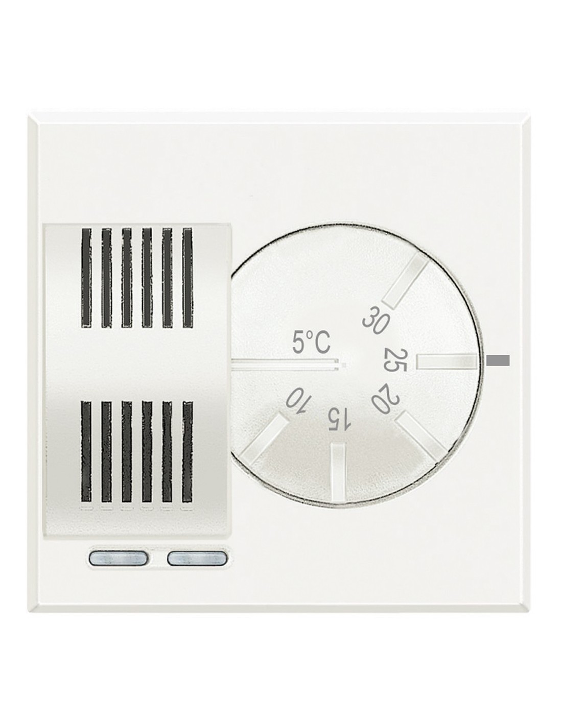 Bticino hd4441 axolute vendita termostato ambiente for Istruzioni termostato bticino