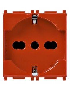 Vimar 14210.R Plana - presa universale rosso