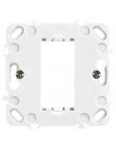 Vimar 14601.G Plana - supporto 1 modulo con griffe grigio