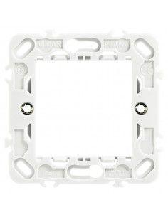 Vimar 14602.G Plana - supporto 2 moduli con griffe grigio