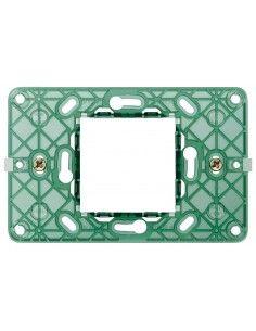 Vimar 14612 Plana - supporto 2 moduli centrali con viti