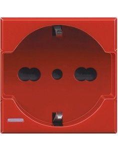 Axolute - presa universale rosso