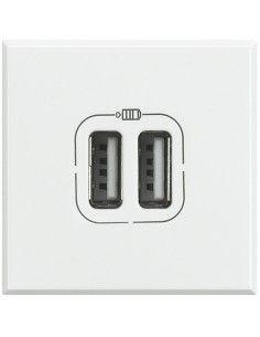 Axolute Bianco - caricatore USB doppio