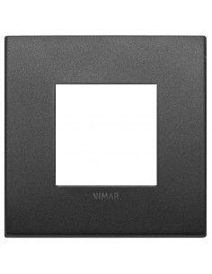 Vimar 19642.01 Arke - placca 2 moduli grafite matt