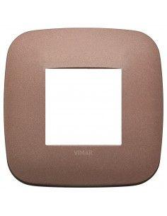 Vimar 19672.24 Arke - placca 2 moduli bronzo matt