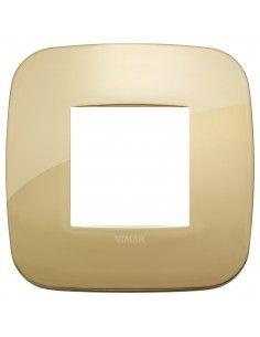 Vimar 19672.27 Arke - placca 2 moduli oro