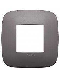 Vimar 19672.29 Arke - placca 2 moduli nichel dark