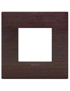 Vimar 19642.41 Arke - placca 2 moduli wengé