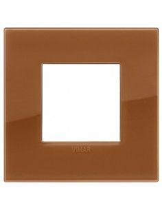 Vimar 19642.62 Arke - placca 2 moduli caramel