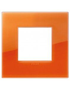 Vimar 19642.63 Arke - placca 2 moduli orange