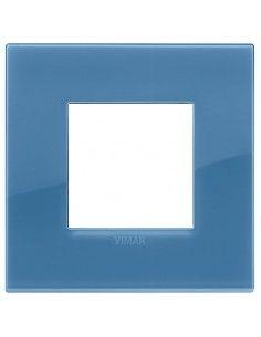 Vimar 19642.64 Arke - placca 2 moduli oltremare