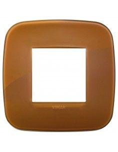 Vimar 19672.62 Arke - placca 2 moduli caramel