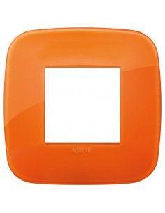 Vimar 19672.63 Arke - placca 2 moduli orange