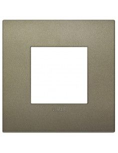 Vimar 19642.77 Arke - placca 2 moduli verde matt