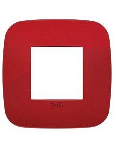 Vimar 19672.85 Arke - placca 2 moduli rosso